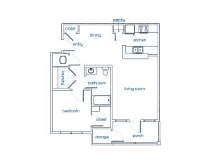 Lennon floor plan